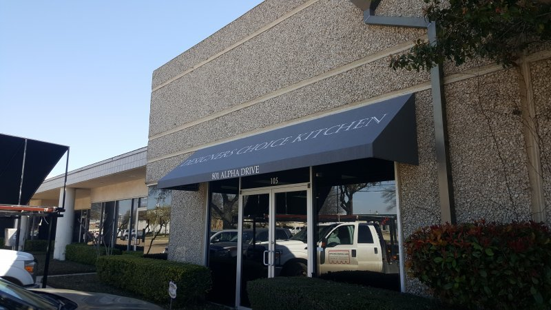 Commercial Fabric & Canvas Awnings Dallas TX | USA Canvas ...
