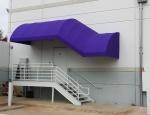 Custom Quarter Barrel Entrance Canopy