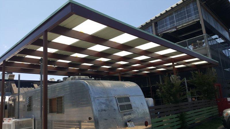 Metal Car Canopies Amp Metal Awnings In Dallas Tx Usa