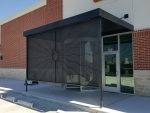 Custom Metal Entrance/Windscreen