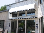 Waterfall and Retractable Awnings