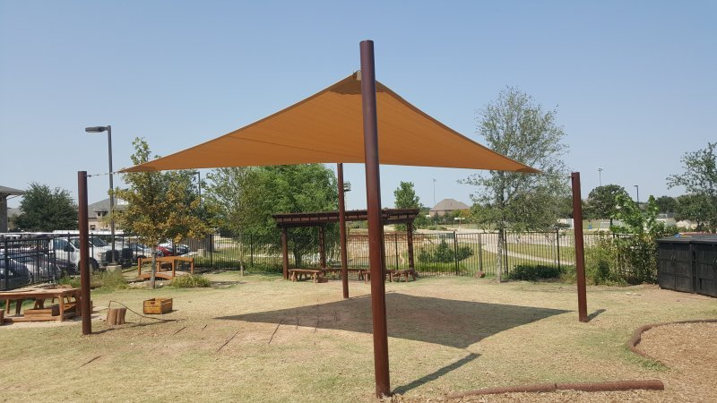 Sun shades sails for sale in dallas tx usa canvas shoppe for Sun shade structure