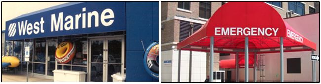 Commercial Awnings in Dallas TX