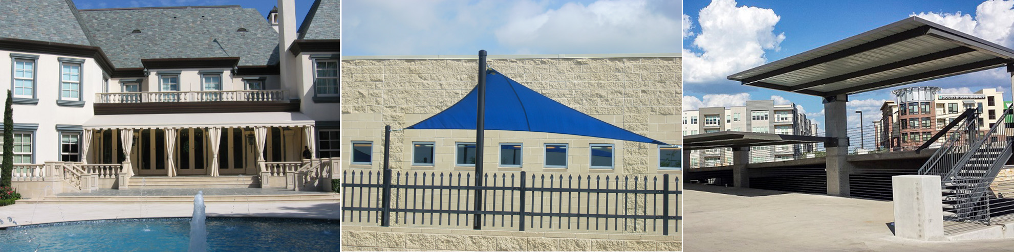 Residential Awnings u0026 Canopies in Denton TX & Denton TX Commercial Metal/Fabric Awning u0026 Canopy Company | USA ...