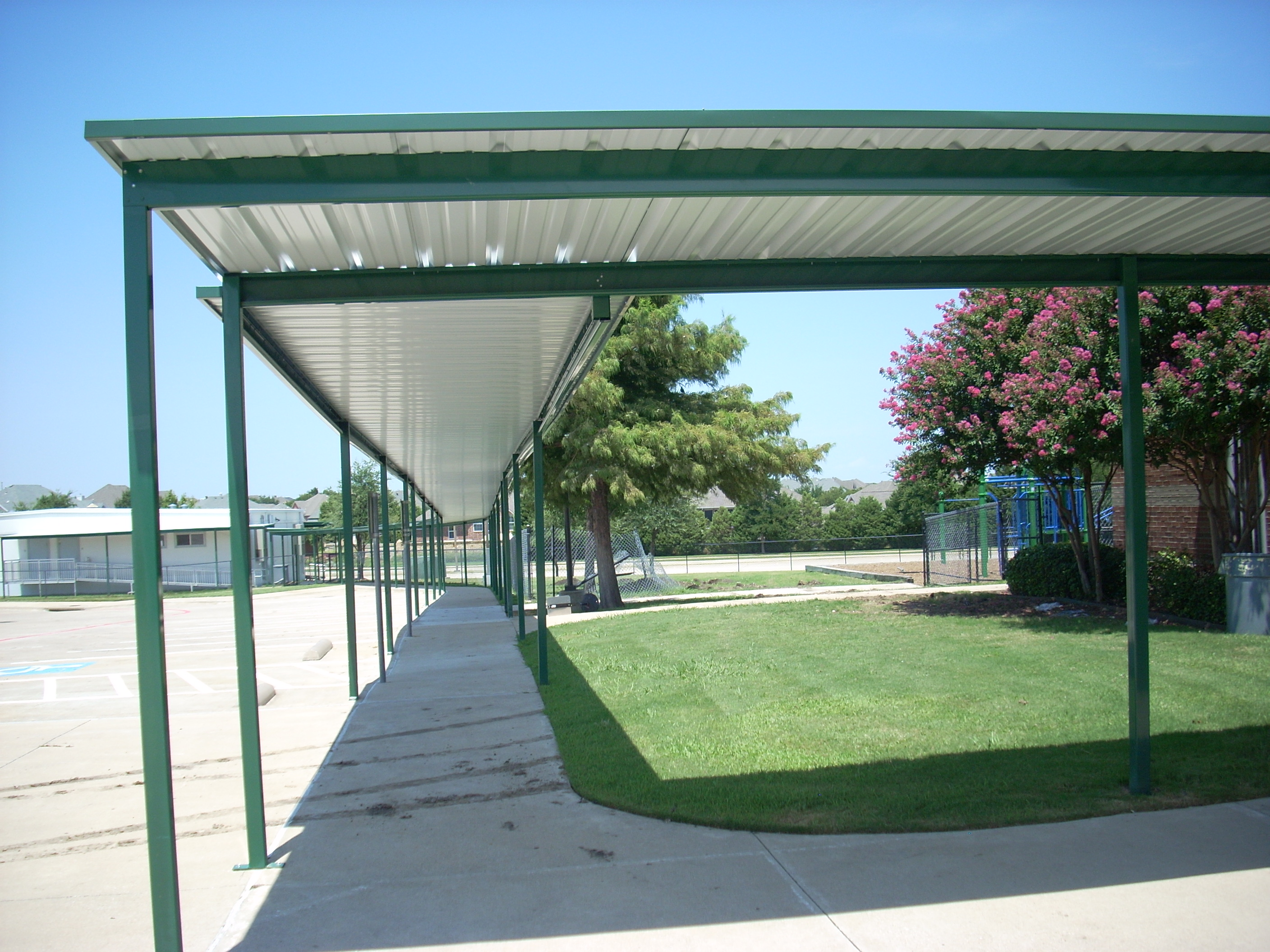 Carport & Walkway Covers in Dallas TX | USA Canvas Shoppe