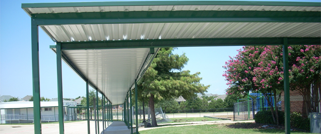 Outdoor Commercial Awnings in Frisco TX